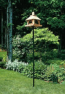bird feeder pole or birdhouse poles