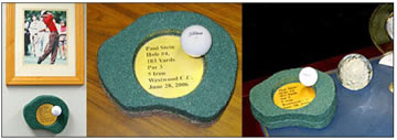 personalized hole in one award